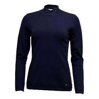LUCIA Lucia Sweater 43 412606 Navy Or Raspberry