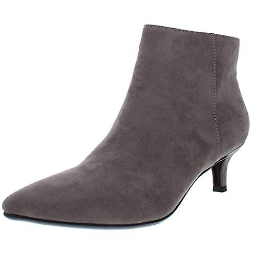 Naturalizer Womens Giselle Faux Suede Ankle Booties Gray 7 Medium (B,M) - Remise particulière