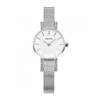OBAKU - Wristwatch - UNISEX - V207LECIMC - LYKKE-STEEL