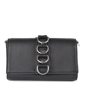 Ash BETH BIS Mini Belt Bag Black Leather