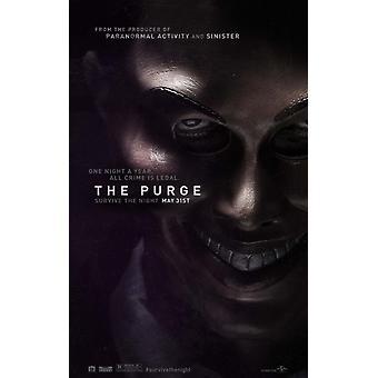 Il Poster di eliminazione doppio lato avanzata (2013) Poster originale del cinema