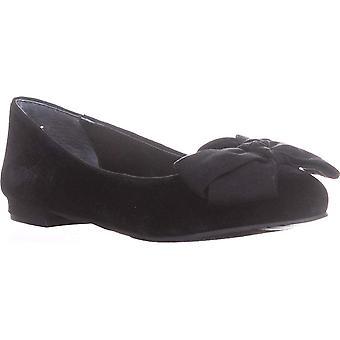 NINA Wisdom Bow Ballet Flats, Black Night, 6 US / 36.5 EU
