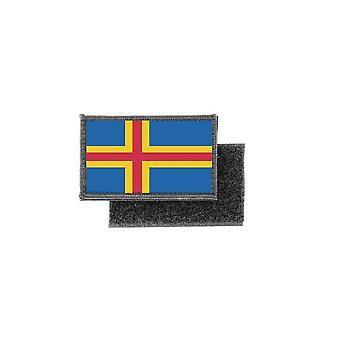 Patch Ecusson druckt aland Flagge Abzeichen