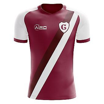 2020-2021 Cfrクルージュホームコンセプトフットボールシャツ - 大人の長袖
