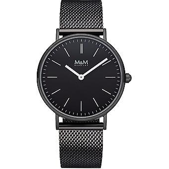 M & M Germany M11892-985 Basic 36 Ladies Watch