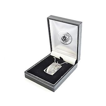 Manchester City FC Official Engraved Dog Tags