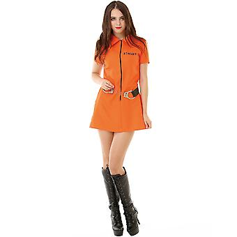 Intimate Inmate Adult Costume, S