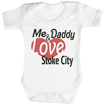 Minulle & isä rakkaus Stoke City Baby Body / Babygrow