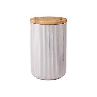 Ladelle STAK Canister gri texturat, 17cm