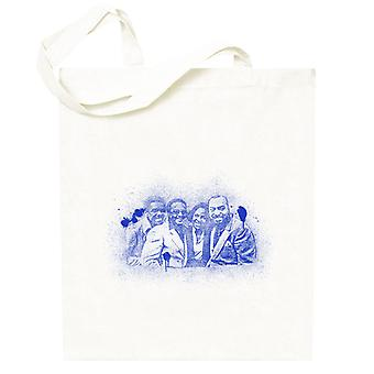 TV Times Gladys Knight And The Pips 1980 Paint Splatter Totebag