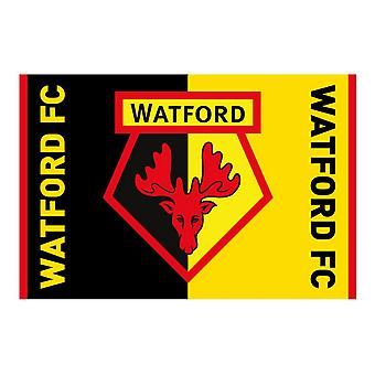 Watford FC Crest Supporters Flag