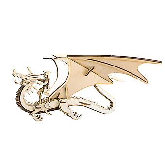 Crafts - dragonrider model kit raw wood