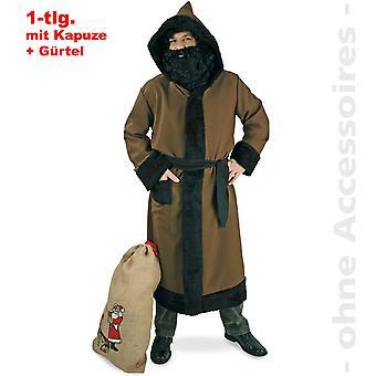 Knecht Ruprecht van kostuum mens Rubrechtmantel Nicholas heren kostuum