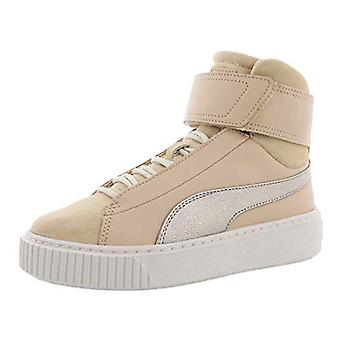 PUMA Basket Platform Mid Up Womens Shoes