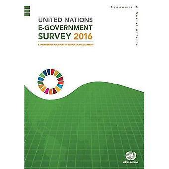 Výzkum e-Government Organizace spojených národů 2016: e-Government na podporu udržitelného rozvoje