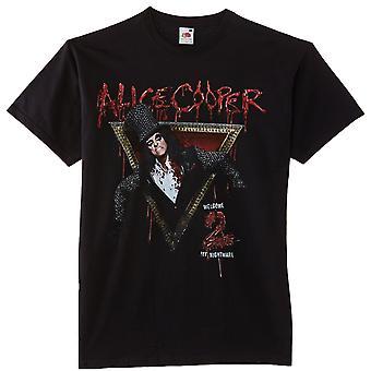Alice Cooper Välkommen till min Nightmare rock officiella T-shirt