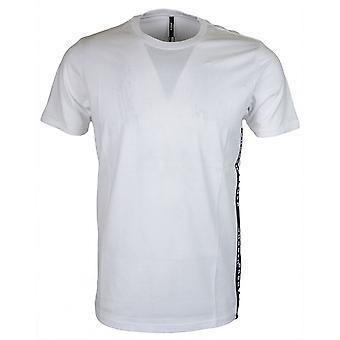 Versace Bu90649 Stitched White T-shirt