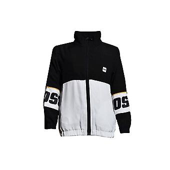 Hugo Boss Boys Hugo Boss Kids Black/White Tracksuit Jacket