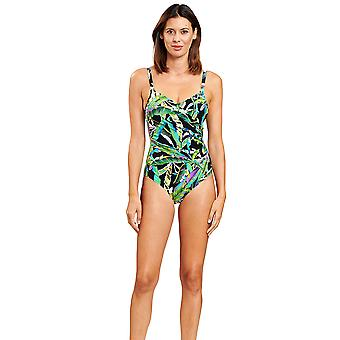 Féraud 3205019-16072 Women's Jungle Green Shaping Swimsuit