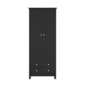 Hailey 2 Door 2 Drawer Wardrobe