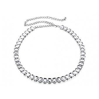 Ceinture de la chaîne de taille de rhinestone de 42 pouces Diamante