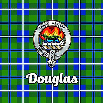 Art2Glass Tartan Clan Coaster - Douglas