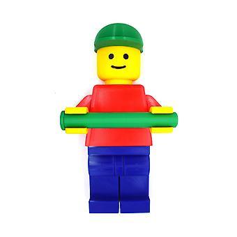 Soporte de papel higiénico para niños Lego 35cm de largo