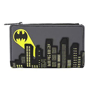 Batman pungă Bat Semnal Gotham Logo Flap nou Oficial DC Comics Grey