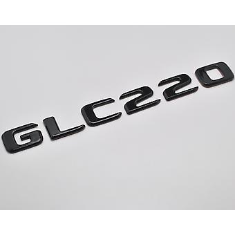 Gloss Black GLC220 Flat Mercedes Benz Car Model Numbers Letters Badge Emblem For GLC Class X253/C253 AMG