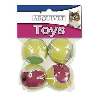 Arquivet Tennis Ball 4.5Cm (Cats , Toys , Balls)