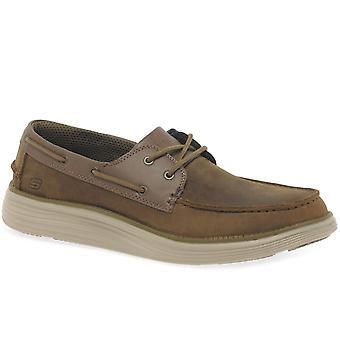 أحذية قارب رجالي مركز سكيتشرز 2.0