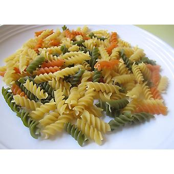 Pasta Tri Colour Rotini-( 9lb )