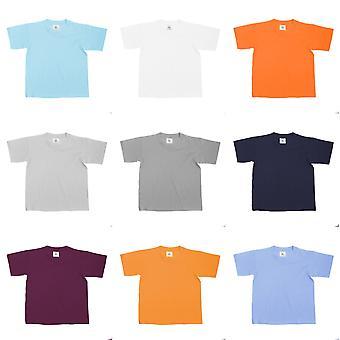 B&C Kids/Childrens Exact 150 Short Sleeved T-Shirt