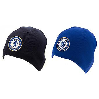 Chelsea FC Official Adults Unisex Knitted Hat