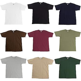 Frukten av vävstol Mens Super Premium Kortärmad Crew Neck T-Shirt