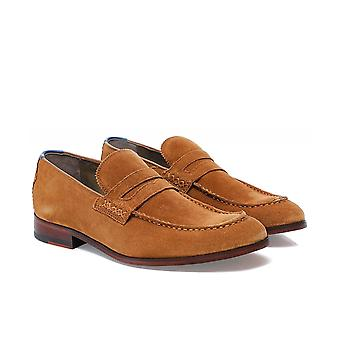 Oliver Sweeney Suede Bibury Penny Loafers