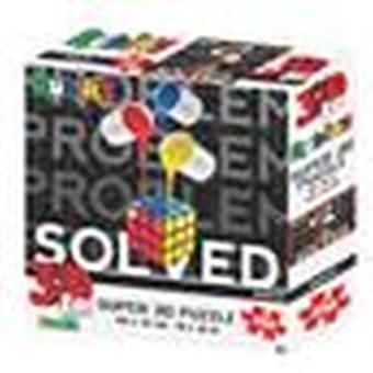 Painted Rubik's Super 3D Puzzles 150 & 500 Pieces