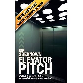 Die 2BEKNOWN Elevator Pitch door Riedl & Alexander