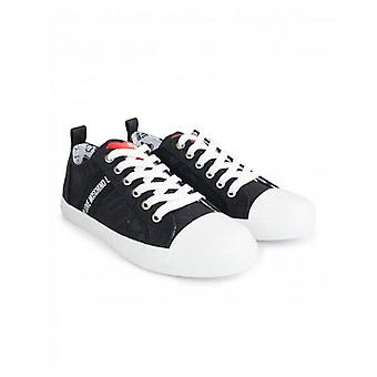 Love Moschino Footwear Logo Canvas Trainers