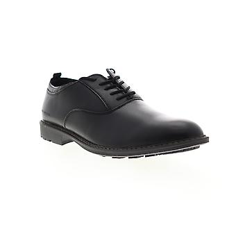 Mark Nason Ottomatic G T  Mens Black Leather Dress Lace Up Oxfords Shoes