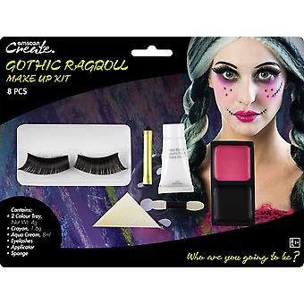 Gothic Ragdoll Halloween Make-up Kit