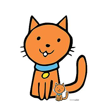 Cute Cat Animal Cardboard Cutout / Standee / Standup