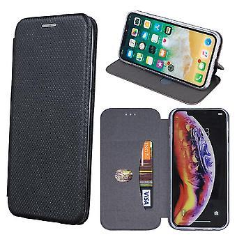 Sony Xperia 10 - Smart Verona Case Mobile Wallet - Sort
