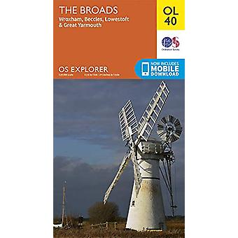The Broads - Wroxham - Beccles - Lowestoft & Great Yarmouth - 9780