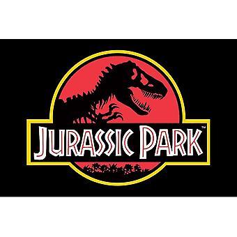 Jurassic Park, Maxi poster-logo
