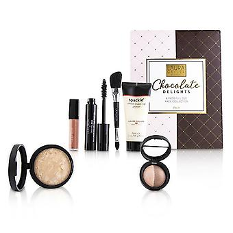 Laura Geller Chocolate Delights 6 Piece Full Size Face Collection - # Fair 6pcs