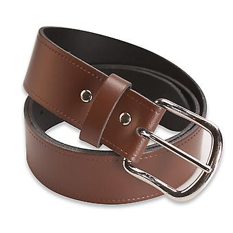 Hawkdale Mens Lether Belt - 1,5 inch Casual Jeans Belt - Made In The UK # 808-400