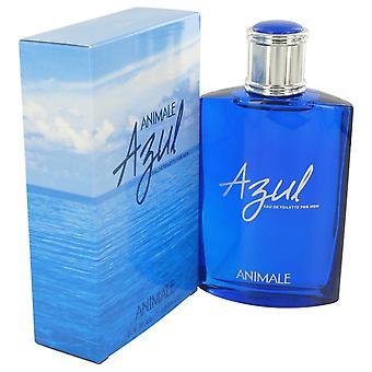 Animale Azul Eau De Toilette Spray por Animale 3.4 oz Eau De Toilette vaporizador