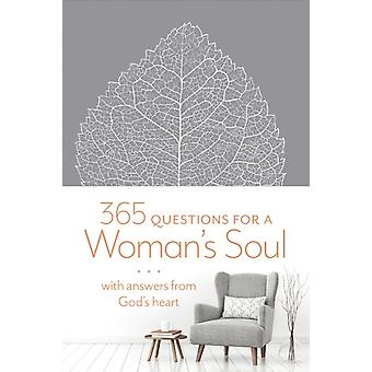 365 Questions for a Womans Soul  With Answers from Gods Heart by Katherine J Butler & Contributions by Ronald A Beers & Contributions by Amy Mason