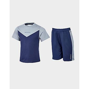 Nieuwe McKenzie Kids' Mini Bixente T-Shirt/Shorts Set Blue